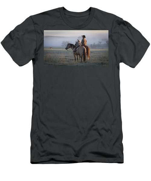 Wyoming Ranch Men's T-Shirt (Athletic Fit)