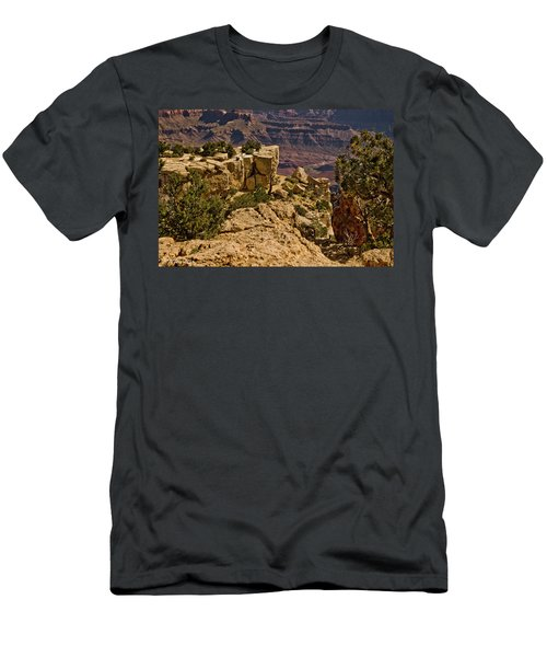 Yaki Point 3 The Grand Canyon Men's T-Shirt (Athletic Fit)