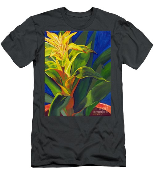 Yellow Bromeliad Men's T-Shirt (Athletic Fit)