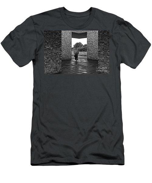 Yin Yang Men's T-Shirt (Athletic Fit)