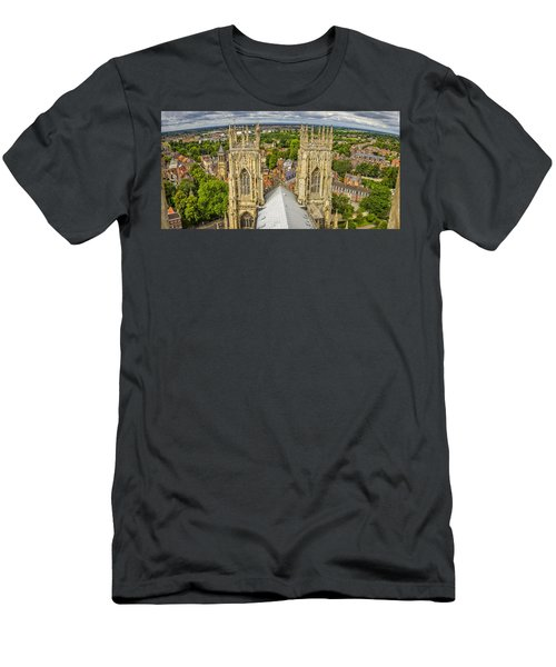 York From York Minster Tower Men's T-Shirt (Athletic Fit)