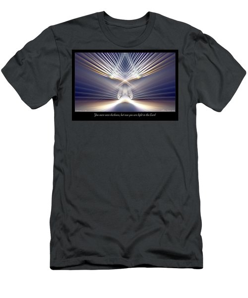 You Are Light Men's T-Shirt (Athletic Fit)