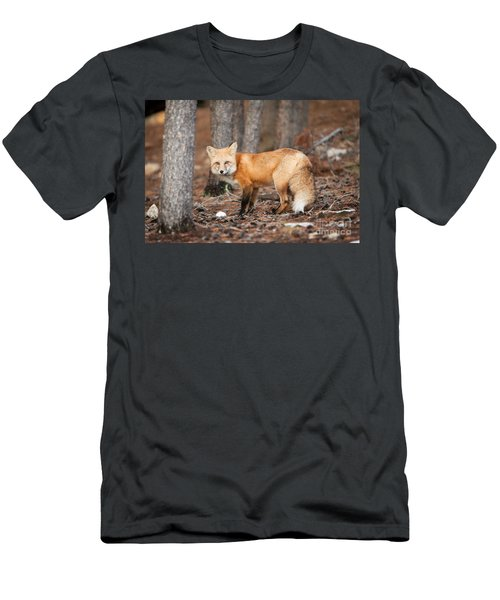 Men's T-Shirt (Athletic Fit) featuring the photograph You Caught Me by John Wadleigh