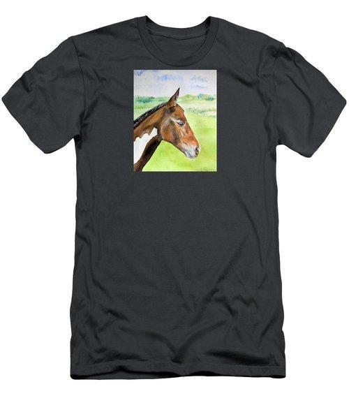 Young Cob Men's T-Shirt (Slim Fit) by Elizabeth Lock