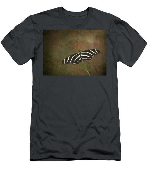 Zebra Longwing  Butterfly-1 Men's T-Shirt (Athletic Fit)