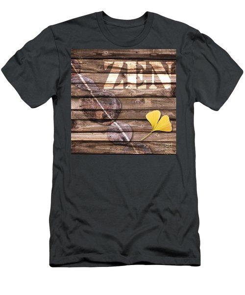 Zen Collage Men's T-Shirt (Athletic Fit)