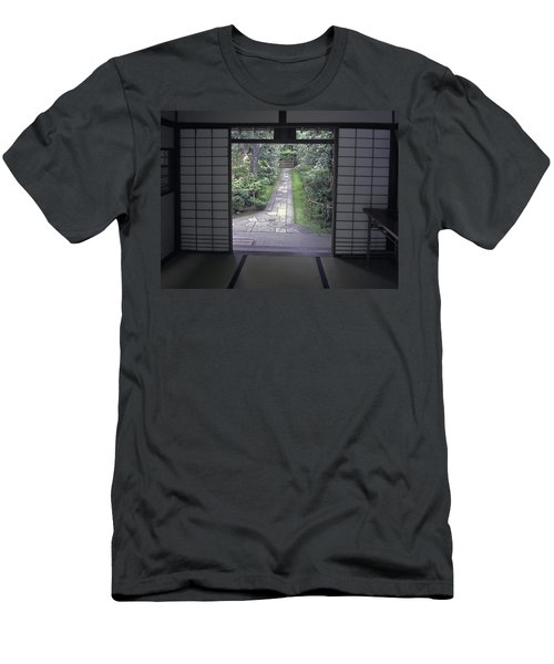 Zen Tea House Dream Men's T-Shirt (Athletic Fit)