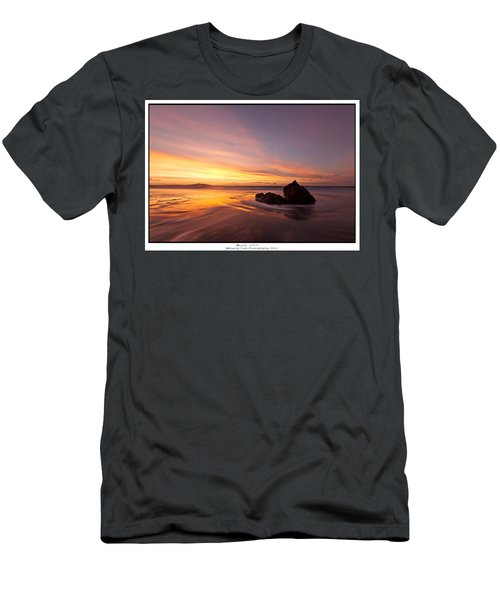 Atomic Sunset Men's T-Shirt (Athletic Fit)