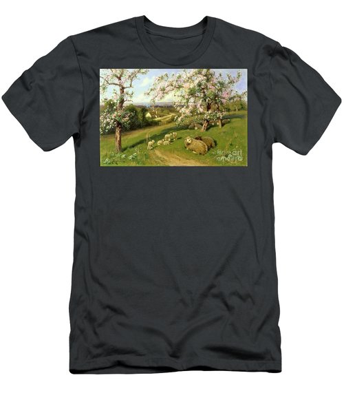 Spring - One Of A Set Of The Four Seasons  Men's T-Shirt (Athletic Fit)
