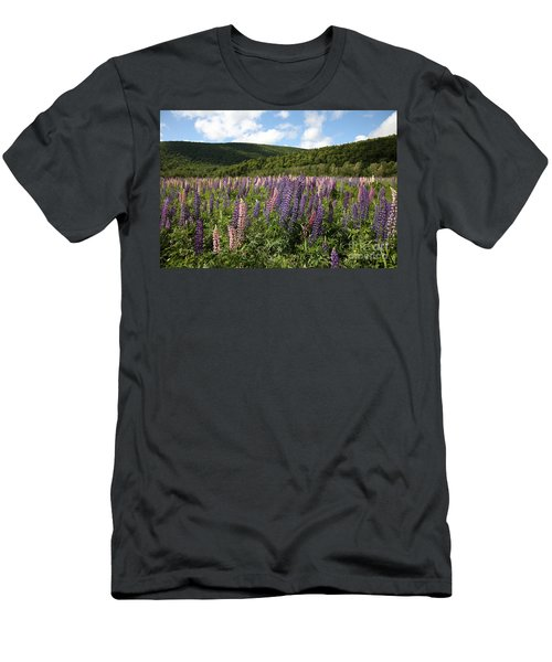 A Field Of Lupins Men's T-Shirt (Athletic Fit)