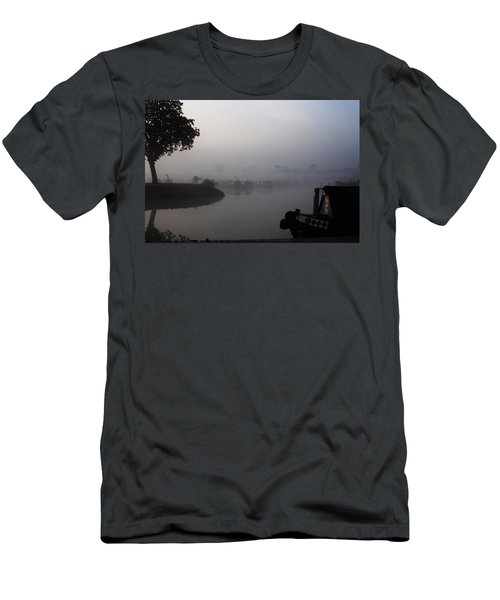 Men's T-Shirt (Slim Fit) featuring the photograph A Nice Place by Linsey Williams