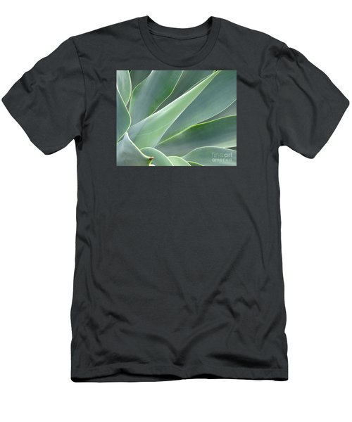 Men's T-Shirt (Slim Fit) featuring the photograph Agave by Ranjini Kandasamy