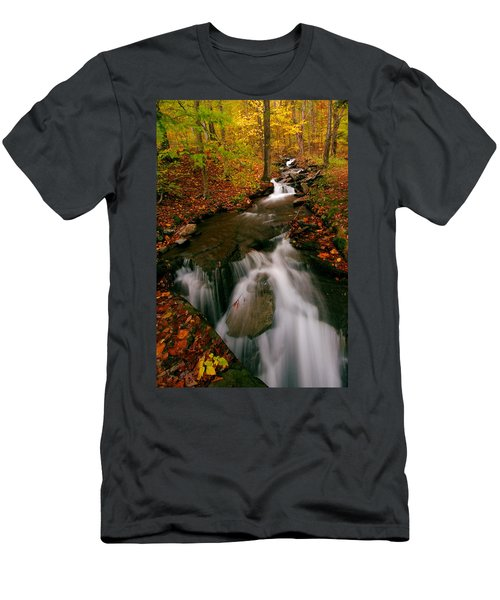 Autumn In New York Men's T-Shirt (Athletic Fit)