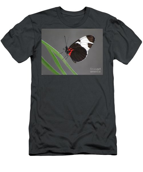 Men's T-Shirt (Slim Fit) featuring the photograph Butterfly  by Tam Ryan