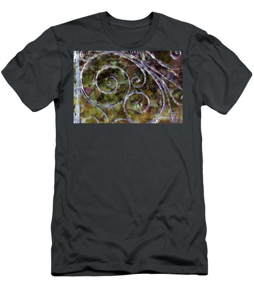 Men's T-Shirt (Athletic Fit) featuring the photograph Iron Gate by Donna Bentley