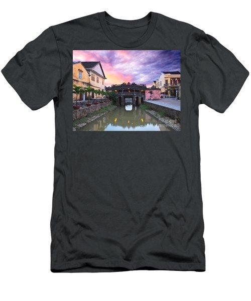 Japanese Bridge Men's T-Shirt (Athletic Fit)