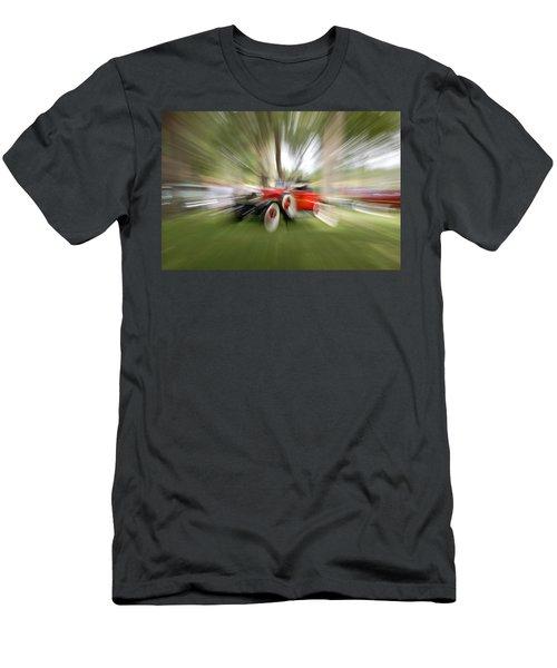 Red Antique Car Men's T-Shirt (Athletic Fit)