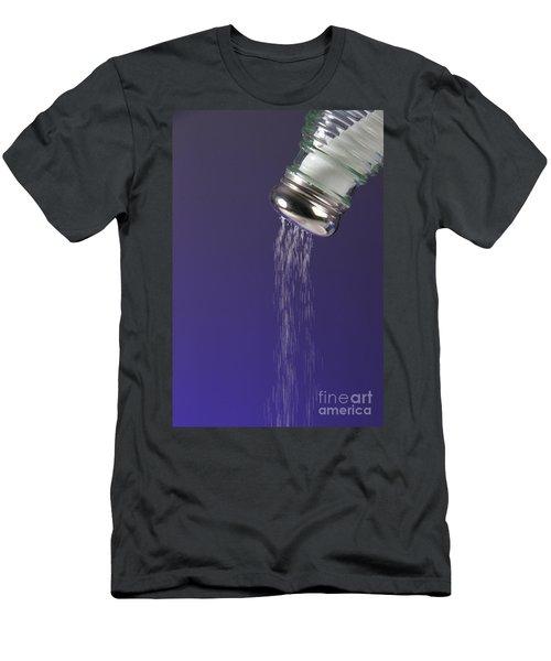 Salt Pouring Out Of Salt Shaker Men's T-Shirt (Athletic Fit)