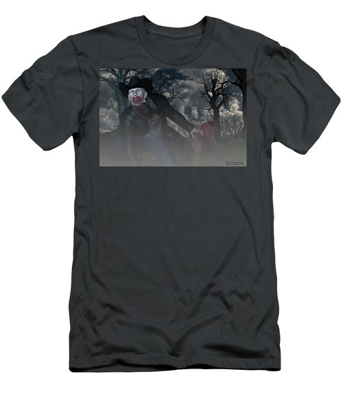 Vampire Cowboy Men's T-Shirt (Athletic Fit)
