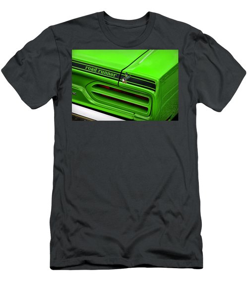 a82d6aec 1970 Plymouth Road Runner - Sublime Green Men's T-Shirt (Athletic Fit)