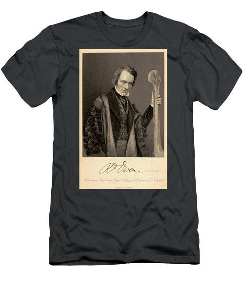 Richard Owen, English Paleontologist Men's T-Shirt (Athletic Fit)