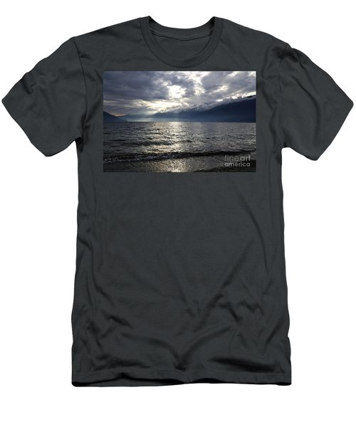 Sunlight Over A Lake Men's T-Shirt (Athletic Fit)