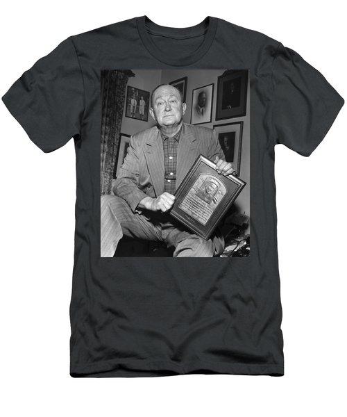 Ty Cobb (1886-1961) Men's T-Shirt (Athletic Fit)