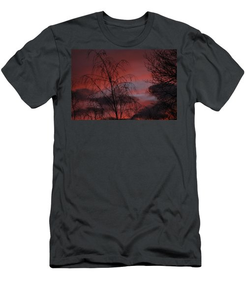 2011 Sunset 1 Men's T-Shirt (Athletic Fit)