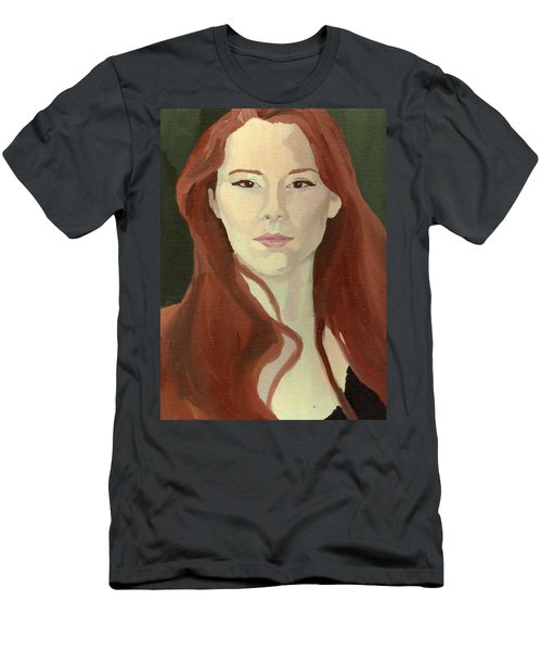 Portrait Men's T-Shirt (Athletic Fit)