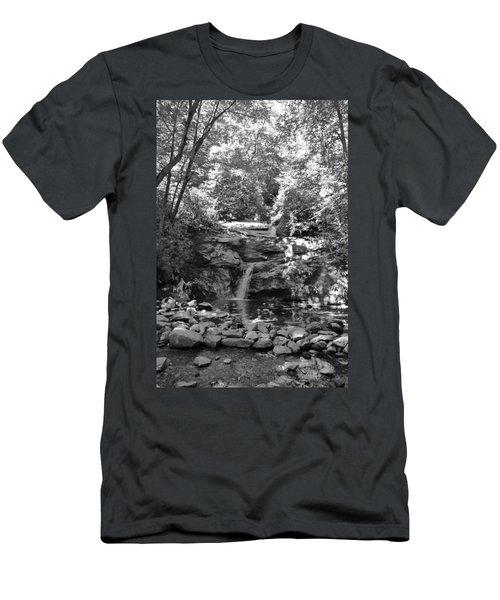 Set Rock Creek Falls Men's T-Shirt (Slim Fit)