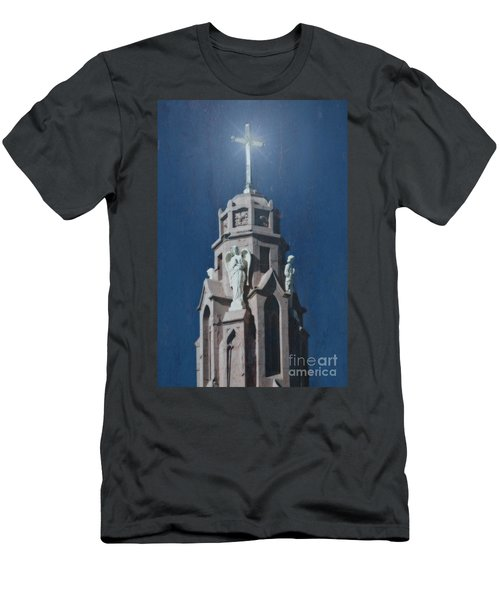 A Church Tower Men's T-Shirt (Athletic Fit)