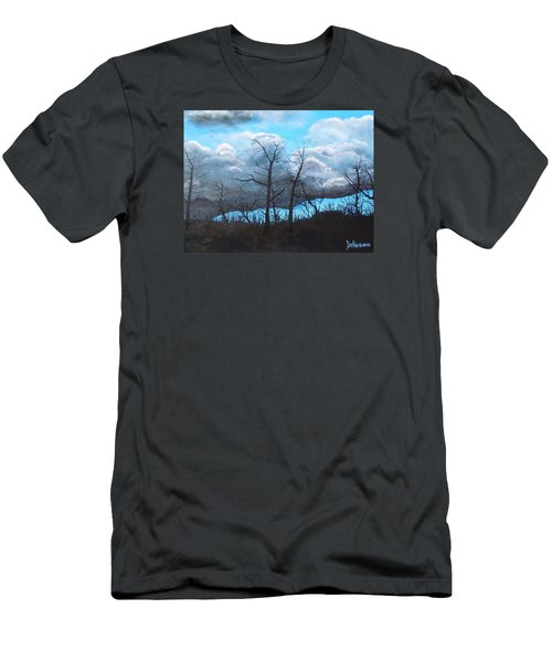 A Cloudy Day Men's T-Shirt (Slim Fit) by Dan Whittemore