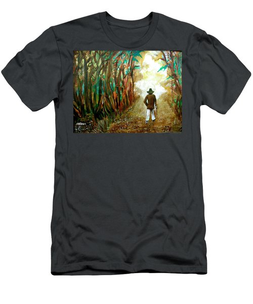A Fall Walk In The Woods Men's T-Shirt (Athletic Fit)