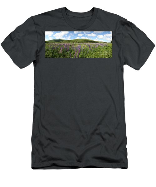 A Field Of Lupines Men's T-Shirt (Athletic Fit)