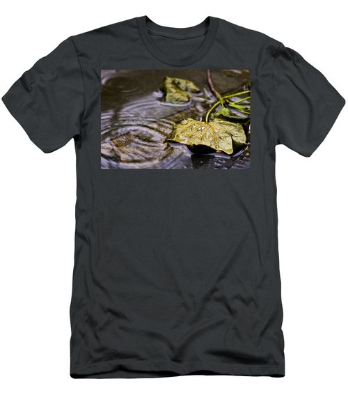 A Leaf In The Rain Men's T-Shirt (Athletic Fit)