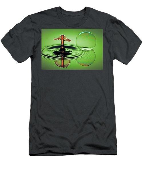 A Splash And A Bubble Men's T-Shirt (Athletic Fit)