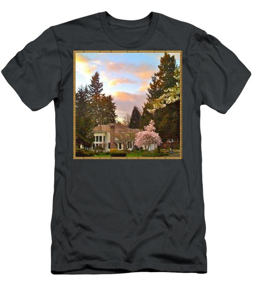 A Spring Evening - Lake Oswego Or Men's T-Shirt (Athletic Fit)