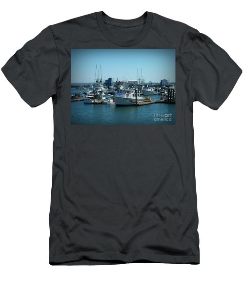A Sunny Nautical Day Men's T-Shirt (Slim Fit)