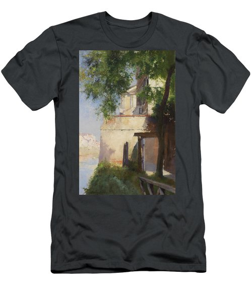 A View Of Venice From A Terrace Men's T-Shirt (Athletic Fit)