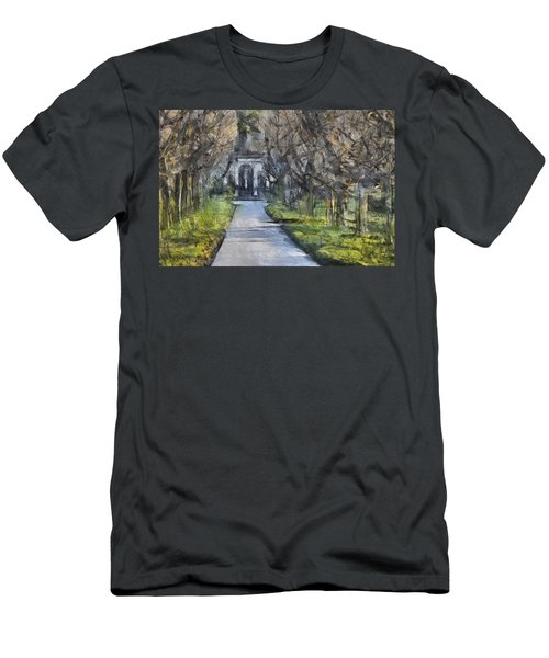 A Walk Down The Lane Men's T-Shirt (Athletic Fit)