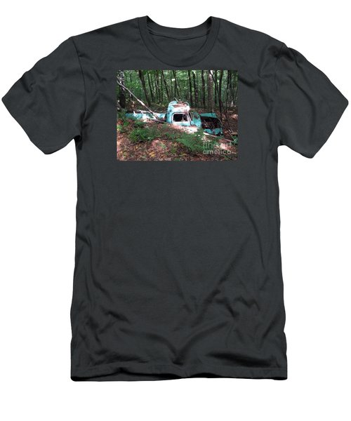 Abandoned Catskill Truck Men's T-Shirt (Slim Fit) by Kathryn Barry