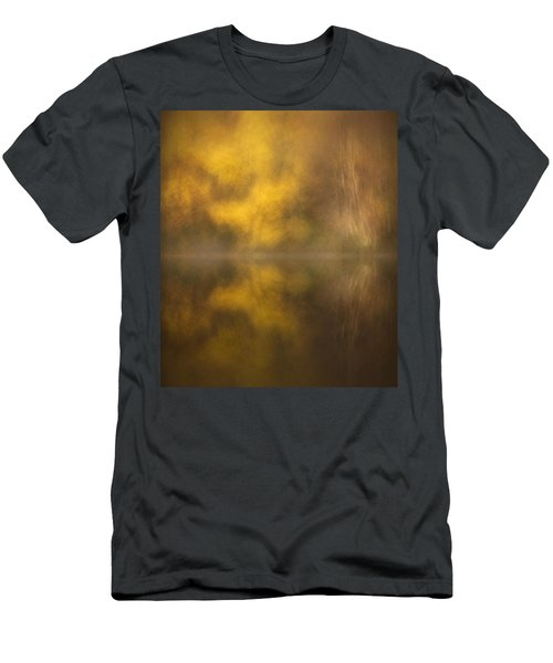 Abstract Birch Reflections Men's T-Shirt (Athletic Fit)