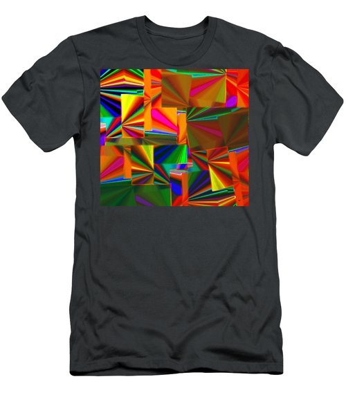 Abstract Fusion 4 Men's T-Shirt (Athletic Fit)