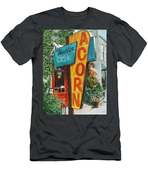Acorn Theater Men's T-Shirt (Athletic Fit)