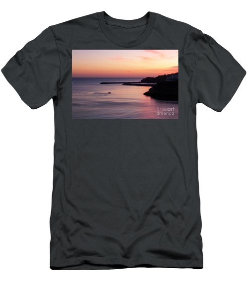 Men's T-Shirt (Slim Fit) featuring the photograph Albuferian Sunset by Lynn Bolt