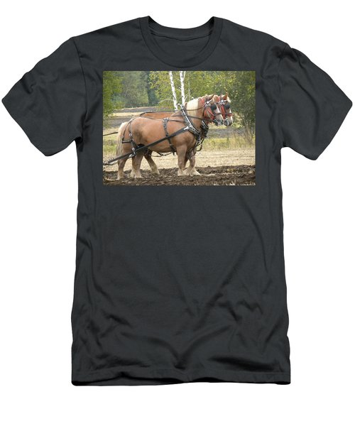 All In A Days Work Men's T-Shirt (Athletic Fit)