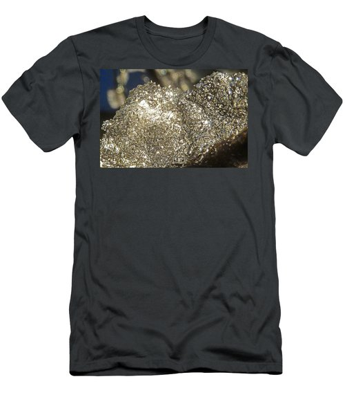 Men's T-Shirt (Slim Fit) featuring the photograph All That Glitters Is Definitely Cold by Steve Taylor