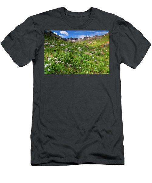 American Basin Wildflowers Men's T-Shirt (Athletic Fit)