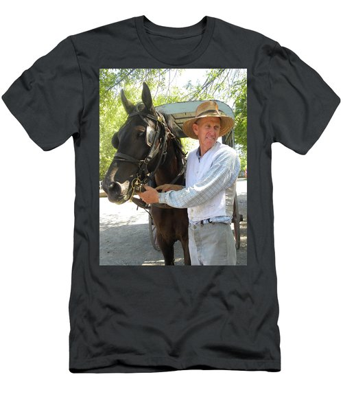 An Old Fashion Delivery Men's T-Shirt (Athletic Fit)