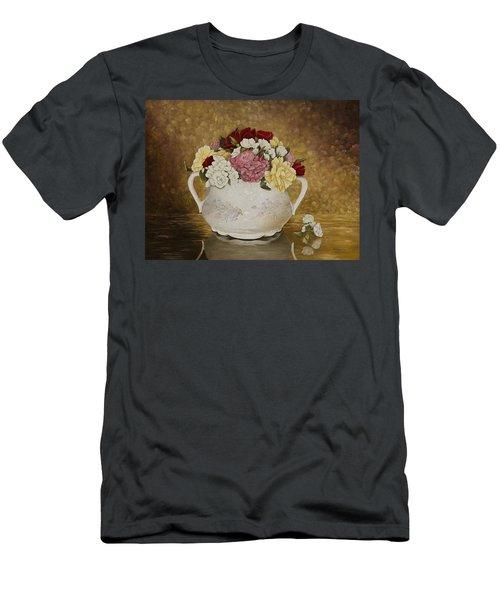 Antique Roses Men's T-Shirt (Athletic Fit)